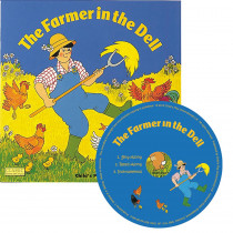 CPY9781846436246 - The Farmer In The Dell Classic Books With Holes Plus Cd in Book With Cassette/cd