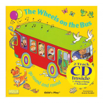 CPY9781904550662 - The Wheels On The Bus 8X8 Book With Cd in Books W/cd