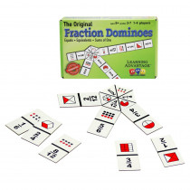 CRE4080 - Fraction Dominoes Game in Dominoes