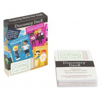 Coping Cue Cards Discovery Deck - CSKCCDIS | Coping Skills For Kids | Self Awareness