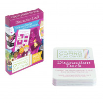 Coping Cue Cards Distraction Deck - CSKCCDST | Coping Skills For Kids | Self Awareness