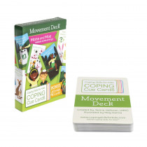 Coping Cue Cards Movement Deck - CSKCCMVT | Coping Skills For Kids | Self Awareness