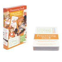 Coping Cue Cards Processing Deck - CSKCCPRO | Coping Skills For Kids | Self Awareness