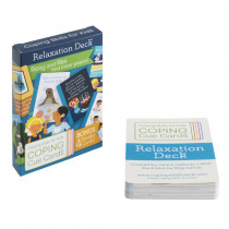 Coping Cue Cards Relaxation Deck - CSKCCREL | Coping Skills For Kids | Self Awareness
