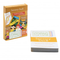 Coping Cue Cards Sensory Deck - CSKCCSEN | Coping Skills For Kids | Self Awareness