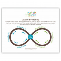 "Lazy Eight Deep Breathing Poster, 11 x 17"" - CSKOPLA11 