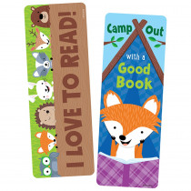 CTP0832 - Camp Out With A Good Book Bookmark in Bookmarks