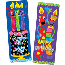 CTP0930 - Birthday Candles  Bookmarks in Bookmarks