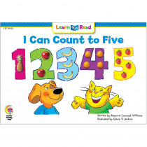 CTP10102 - I Can Count To Five Cat And Dog Learn To Read in Learn To Read Readers