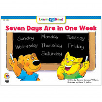 CTP10112 - 7 Days Are In One Week Cat And Dog Learn To Read in Learn To Read Readers