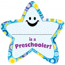 CTP1014 - Im A Preschooler Star Badges in Badges