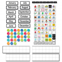 Linear Calendar Bulletin Board Set - CTP10169 | Creative Teaching Press | Calendars