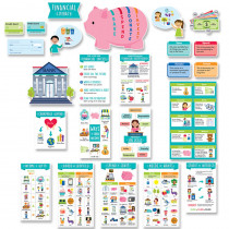 Financial Literacy for Kids Bulletin Board Set - CTP10178 | Creative Teaching Press | Math
