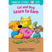 Cat and Dog Learn to Earn - CTP10259 | Creative Teaching Press | Activity Books
