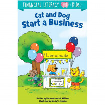 Cat and Dog Start a Business - CTP10261 | Creative Teaching Press | Classroom Activities