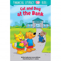 Cat and Dog at the Bank - CTP10263 | Creative Teaching Press | Activity Books