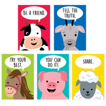 Farm Friends Inspire U 5-Poster Pack - CTP10266 | Creative Teaching Press | Classroom Theme