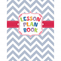 CTP1262 - Chevron Lesson Plan Book in Plan & Record Books