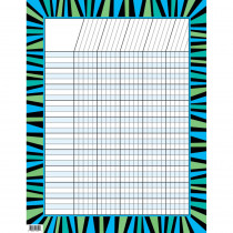 CTP1322 - Blue & Green Stripes Incentive Chart in Incentive Charts
