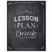 CTP1350 - Chalk It Up Lesson Plan Book in Plan & Record Books