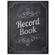 CTP1351 - Chalk It Up Record Book in Plan & Record Books