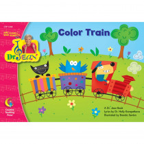 CTP1358 - Color Train Sing Along/Read Along Word Jean Pk-1 in Reading Skills