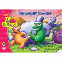 CTP1361 - Dinosaur Boogie Sing Along/Read Along W/ Dr Jean Pk-1 in Reading Skills