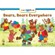 CTP13646 - Bears Bears Everywhere Learn Toread in Learn To Read Readers