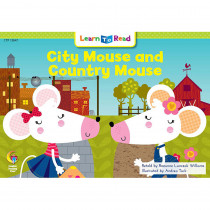 CTP13647 - City Mouse And Country Mouse Learn To Read in Learn To Read Readers
