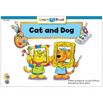 CTP13649 - Cat And Dog Learn To Read in Learn To Read Readers