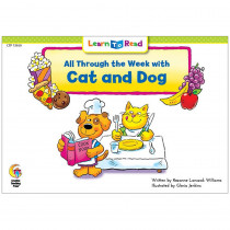CTP13650 - All Through The Week W Cat And Dog Learn To Read in Learn To Read Readers