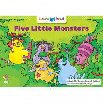 CTP13727 - Five Little Monsters Learn To Read in Learn To Read Readers