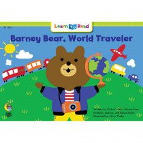 CTP13901 - Barney Bear World Traveler Learn To Read in Learn To Read Readers