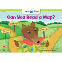 CTP13903 - Can You Read A Map Learn To Read in Learn To Read Readers