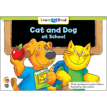 CTP13934 - Cat And Dog At School Learn To Read in Learn To Read Readers