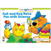CTP14151 - Cat And Dog Have Fun W Science Learn To Read in Learn To Read Readers