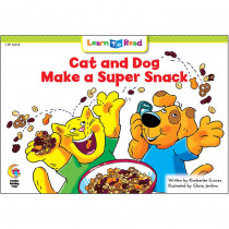 CTP14354 - Cat And Dog Make A Super Snack Learn To Read in Learn To Read Readers