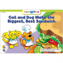 CTP14357 - Cat Dog Make Biggest Best Sandwich Learn To Read in Learn To Read Readers