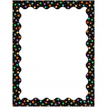 CTP1437 - Dots On Black Computer Paper in Design Paper/computer Paper