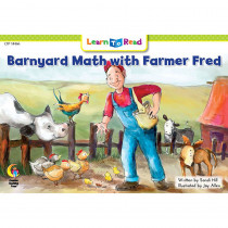 CTP14466 - Barnyard Math W Farmer Fred Learn To Read in Learn To Read Readers