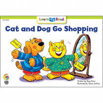 CTP14476 - Cat And Dog Go Shopping Learn To Read in Learn To Read Readers