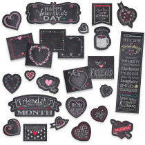 CTP1733 - Chalk Hearts Mini Bulletin Board Chalk It Up in General
