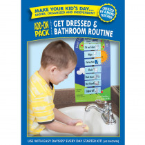CTP1863 - Easy Daysies Get Dressed & Bathroom Routines Add On Kit in Resources