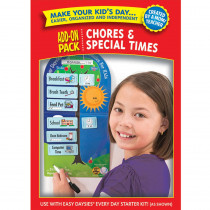 CTP1864 - Easy Daysies Chores & Special Times Add On Kit in Resources