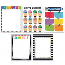 CTP2255 - Bold Bright 5 Chart Pack Classroom Essentials in General