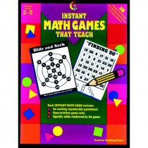 CTP2620 - Instant Math Games That Teach Gr 2-5 in Math