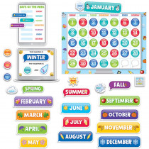 CTP2649 - Emoji Fun Calendar Set Bb in General