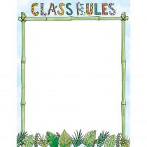 CTP2794 - Safari Friends Class Rules Chart in General