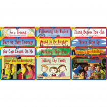 CTP3148 - Character Education 12 Books Variety Pk 1 Each 3123-3134 in Character Education