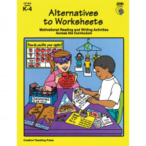 CTP3322 - Alternatives To Worksheets Gr K-4 in Skill Builders